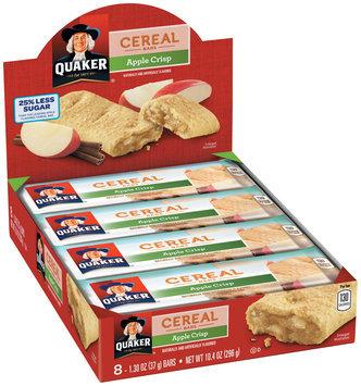 Quaker® Life Less Sugar Apple Crisp Cereal Bars