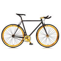 Big Shot Bikes Blackout Single Speed Fixed Gear Road Bike Size: 56cm