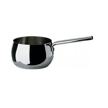 Alessi Mami Saucepan Mirror Polished Stainless Steel 16cm