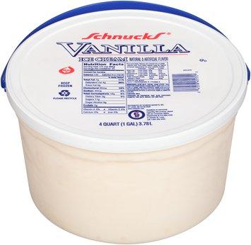 Schnucks® Vanilla Ice Cream 4 qt. Pail
