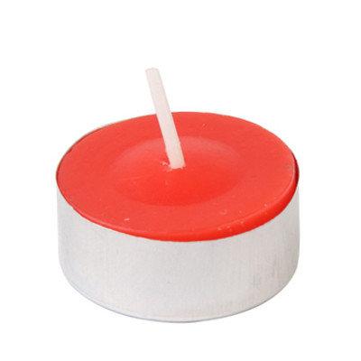 Zest Candle CTC-002 Red Citronella Tealight Candles -100pcs-Box