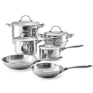 Neway Int Housewares Cooks Standard Classic Stainless Steel 10-piece Cookware Set