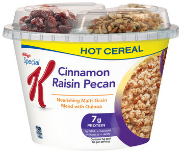 Special K® Kellogg Cinnamon Raisin Pecan Hot Cereal