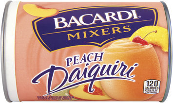 Bacardi® Frozen Mixers Peach Daiquiri