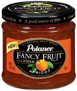 Polaner Preserves Apricot Fancy Fruit 12 Oz Jar