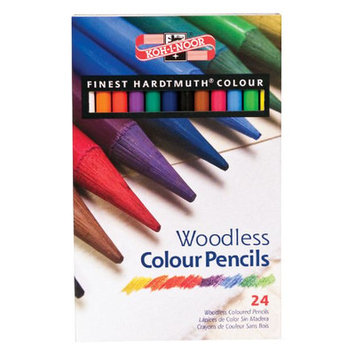 Alvin & Company Koh-I-Noor Woodless Color Pencil (Set of 24)