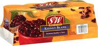S&W® Premium Kidney Beans 8-15.25 oz. Cans