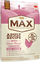 Nutro™ Max™ Adult Recipe with Farm-Raised Chicken Mini Chunk Dog Food 25 lb. Bag