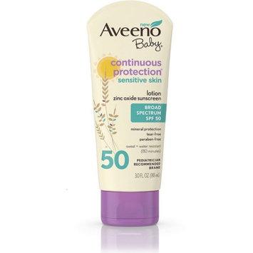 Aveeno® Baby Continuous Protection Sensitive Skin Zinc Oxide Sunscreen Spf 50