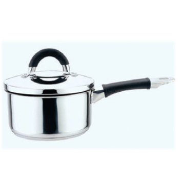 YBM Home a1201 Sauce Pot with Steel Lid and Silicon Handle 1.5 Quart