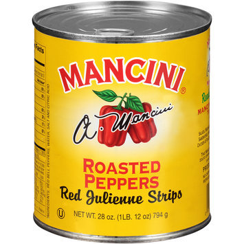 Mancini® Roasted Peppers 28 oz. Pull-Top Can
