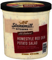 Stonemill® Kitchens All Natural Homestyle Red Skin Potato Salad 4 lb. Tub
