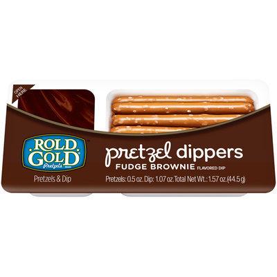 Rold Gold® Fudge Brownie Pretzel Dippers 1.57 oz. Tray