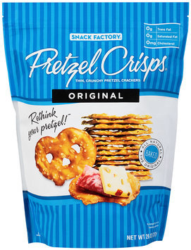 Pretzel Crisps® Original Pretzel Crackers 26 oz. Bag
