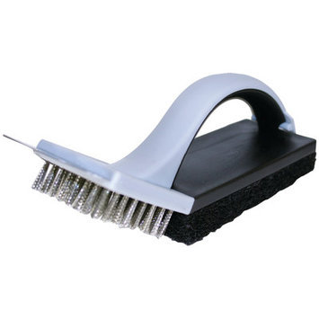 Accutech Chefs Basics Select Hw5309 Bbq Grill Cleaning Brush With Scouring Pad
