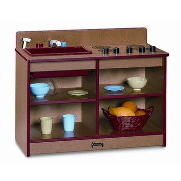 Jonti-Craft 0673JCWW112 Rainbow Accents 2-In-1 Toddler Kitchen- Navy
