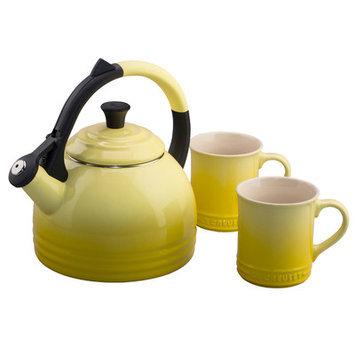 Le Creuset Of America Le Creuset Enamel-On-Steel Kettle and Mug Gift Set