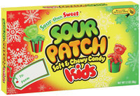 Sour Patch Kids Soft & Chewy Candy Christmas Colors