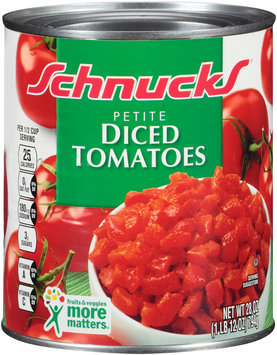 Schnucks® Petite Diced Tomatoes 28 oz. Can