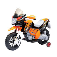 Glopo Orange Streak Battery Powered Motorcycle