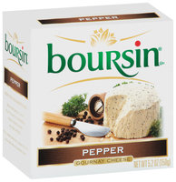 Boursin Pepper Gournay Cheese 5.2 Oz Box
