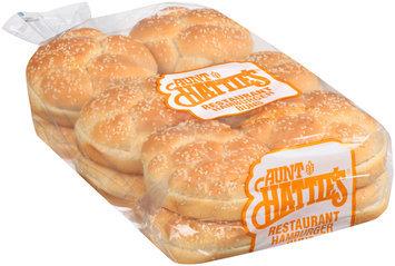 Aunt Hattie's® Restaurant Hamburger Enriched Buns 12 ct Bag