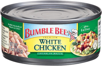 Bumble Bee White Chunk In Water Chicken 5 Oz Can