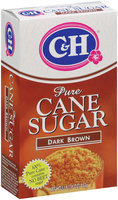 C&H Pure Cane Sugar Dark Brown 1 lb Box