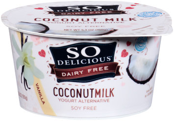 So Delicious® Dairy Free Coconut Milk Vanilla Yogurt Alternative 5.3 oz. Tub