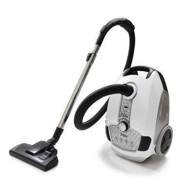 Prolux Tritan Pet Turbo Canister Vacuum Cleaner HEPA Sealed Hard Floor Vacuum Color: White
