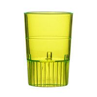 Fineline Settings, Inc Quenchers Disposable Plastic 1.5 oz. Neon Shooter (500/Case), Yellow