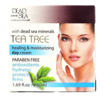 DEAD SEA COLLECTION® Tea Tree Day Cream Hyrdates Protects