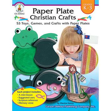 Carson-dellosa Publishing Carson Dellosa CD204062 Paper Plate Christian Crafts Gr K3