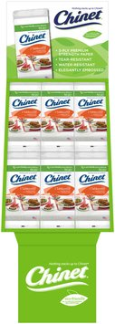 Chinet 3-Ply Premium Strength Paper Table Cover 54