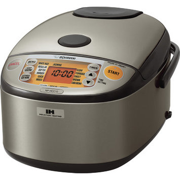 Zojirushi NP-HCC10 Induction Heating System Rice Cooker and Warmer (1-Liter)