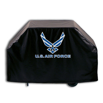 Holland Bar Stool Company US Armed Forces Grill Cover - Size: 36 H x 55 W x 21 D, Branch: Air Force