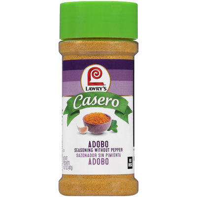 Lawry's® Casero Adobo Seasoning without Pepper 14.37 oz. Shaker