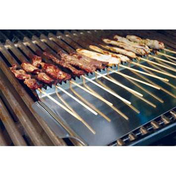 The Companion Group SR8031 Stainless Grill Shield for Skewers