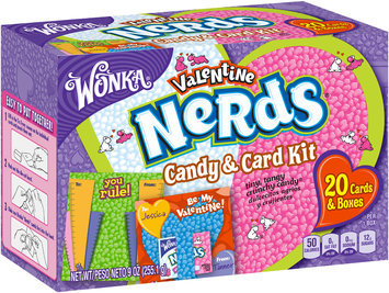 nerds candy and card kit,