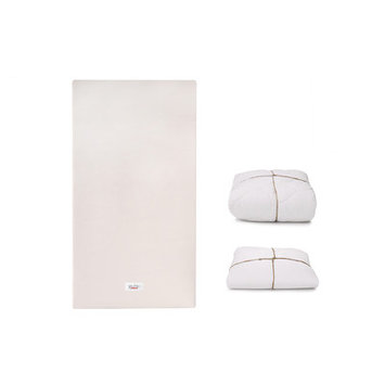 Babyletto Coco Core Crib Mattress with Dry Organic Cover