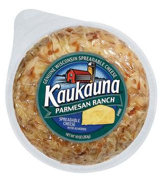 Kaukauna Parmesan Ranch Spreadable Cheeseball 10 Oz