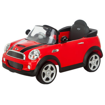 Pacific Cycle Kid Trax Mini Cooper 6V Electric Car, Red