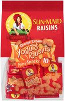 Sun-Maid® Mini-Snacks® Orange Cream Yogurt Raisins 10 ct Boxes
