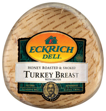 Eckrich Honey Roasted & Smoked Turkey Breast Deli - Turkey Breast