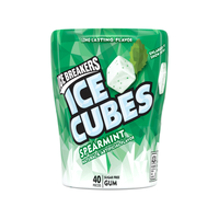ICE BREAKERS ICE CUBES SPEARMINT GUM