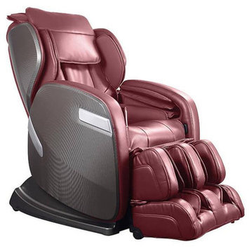 Ogawa Active Supertrac Faux Leather Zero Gravity Reclining Massage Chair Upholstery: Cherry