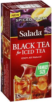 Salada® Spiced Plum All Natural Black Tea for Iced Tea 18 ct. Box