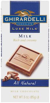 Ghirardelli Chocolate Luxe Milk Milk Chocolate Chocolate 3 Oz Bar