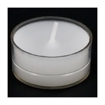 Light In the Dark Tealight Candles in Clear Cups (Set of 100)