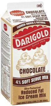 Darigold Chocolate Reduced Fat  Ice Cream Mix 64 Fl Oz Carton